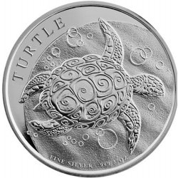 5 oz silver NIUE TURTLE 2016