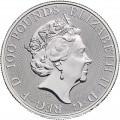 1 oz PLATINIUM PLATINUM QUEEN'S BEAST £100 WHITE LION 2020