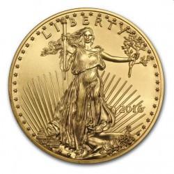 1 oz AMERICAN GOLD EAGLE 2016 PCGS MS-70 $50 Reagan Legacy Series