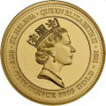 ST HELENA 1 oz GOLD The QUEEN'S VIRTUES VICTORY 2021 £100