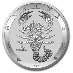 Tokelau 1 oz silver ZODIAC SERIES 2021 VIRGO $5 BU
