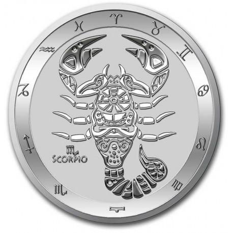Tokelau 1 oz silver ZODIAC SERIES 2021 TAURUS $5 BU