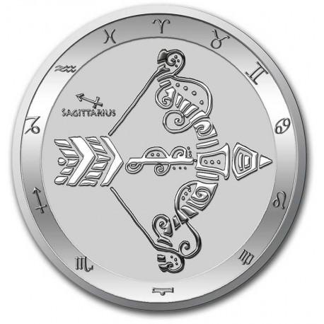 Tokelau 1 oz silver ZODIAC SERIES 2021 SCORPIO $5 BU