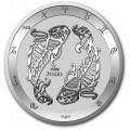 Tokelau 1 oz silver ZODIAC SERIES 2021 SAGITTARIUS $5 BU
