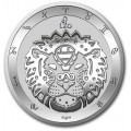 Tokelau 1 oz silver ZODIAC SERIES 2021 LIBRA $5 BU