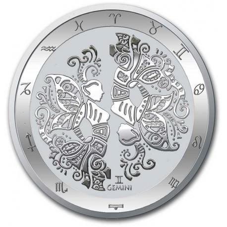 Tokelau 1 oz silver ZODIAC SERIES 2021 LEO $5 BU