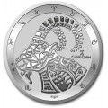 Tokelau 1 oz silver ZODIAC SERIES 2021 GEMINI $5 BU