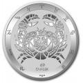 Tokelau 1 oz silver ZODIAC SERIES 2021 CAPRICORN $5 BU