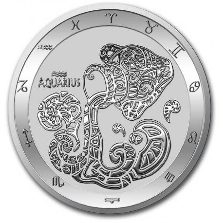 Tokelau 1 oz silver ZODIAC SERIES 2021 ARIES $5 BU