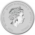 Perth Mint JAMES BOND 007 2021 1oz SILVER BULLION COIN $1 gilded
