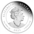 Quokka 2021 1oz Silver Proof Coin