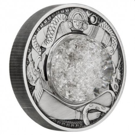 Tears of the Moon 2021 2oz Silver Antiqued Coin