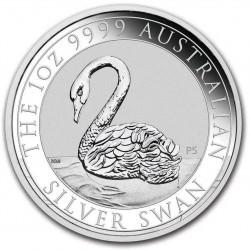 PM 1 oz silver SWAN 2021 $1