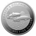 1 oz silver RAM Spinner Dolphin 2020