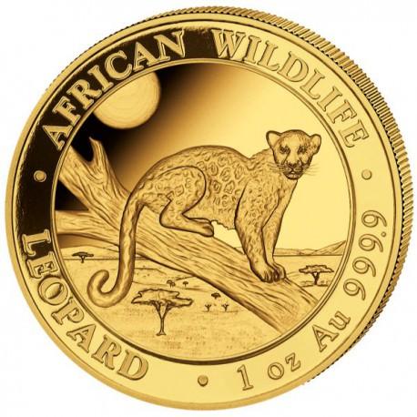 GOLD 1 oz LEOPARD 2020 SOMALIA 1000 Shillings