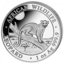 1 oz silver SOMALIA LEOPARD 2020 - 100 shillings