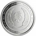 1 oz silver MONTSERRAT 2019 Eastern Caribbean N°5 / 8 EC2 $2