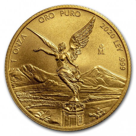 1 oz gold LIBERTAD 2017