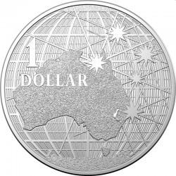 PLATYPUS RAM 1 oz silver Beneath the Southern Skies 2021 $1 PLATYPUS
