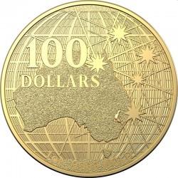 PLATYPUS RAM 1 oz gold AUSTRALIA BENEATH THE SOUTHERN SKIES 2021 BU $100 PLATYPUS