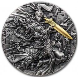 Niue QIN SHI HUANG Legends of The Great Chinese Emperors 2 oz Silver Coin 2020 Second Choice