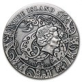 Niue QIN SHI HUANG Legends of The Great Chinese Emperors 2 oz Silver Coin 2020
