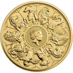 1 oz gold QUEEN'S BEAST 2016 LION OF ENGLAND