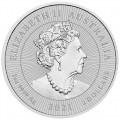 2 oz silver KOOKABURRA & BABY 2020 Next Generation BU $2