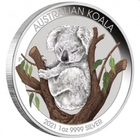 Brisbane Money Expo ANDA Special - Australian Koala 2021 1oz Silver Coin