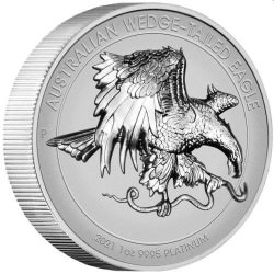 Australian Wedge-tailed Eagle 2021 1oz Platinum Reverse Proof High Relief Coin