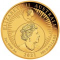 35th Anniversary of the Australian Kangaroo Nugget 2021 2oz Gold Proof Coin