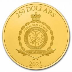Niue 1 oz GOLD STAR WARS Galactic Empire 2021 $250