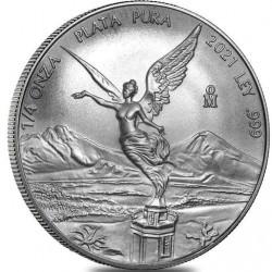 MEXICO 1/4 oz LIBERTAD 2021 BU PRE-SALE