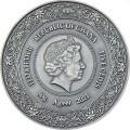 Cameroon 2 oz silver MOUNTAIN GORILLA 2021 – 2000 Francs CFA