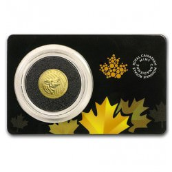 1/10 oz gold 2015 HOWLING WOLF essay card