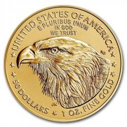 Gold US Gold EAGLE 1 oz 2021 $50 TYPE 2
