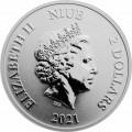 NIUE 1 oz silver MICKEY & PLUTO 2020 $2