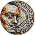 Niue 2 oz silver Mosaic coin 2021 SALVADOR DALI $2