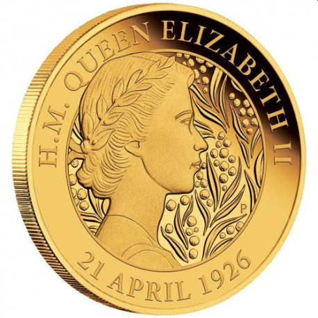 Her Majesty Queen Elizabeth II 95th Birthday 2021 2oz Gold Proof Coin