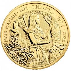 GOLD 1 oz GOLD MYTHS & LEGENDS 2021 £100 ROBIN HOOD