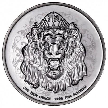Niue 1 oz platinum ROARING LION 2021 Reverse Proof $250 Mintage 333
