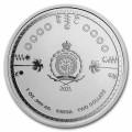 1 oz silver 35th Anniversary SONIC the Hedgehog 2021 $2 BU