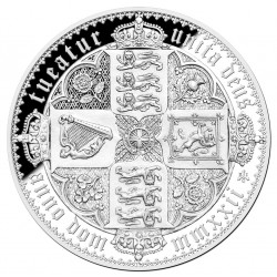ST HELENA 2 oz Silver GOTHIC CROWN - Saint-Helena, Ascension and Tristan da Cunha 2022 Proof