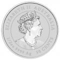 PM Lunar 3 TIGER 1/2 oz silver BU 2022 $0.50 Australia