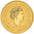 PM Lunar 3 TIGER 10 oz GOLD 2022 BU $1000 Australia