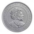 1 oz silver MODERN CHINESE TRADE DOLLAR St HELENA 2021 £1 BU