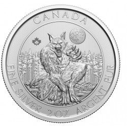 Canada 2 oz silver CREATURES OF THE NORTH: THE KRAKEN 2020 $10