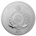 1 oz silver STAR WARS 2021 MILLENNIUM FALCON $2 BU