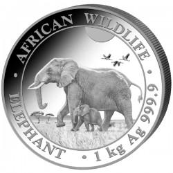 1 kilo SOMALIA ELEPHANT 2021 SHILLINGS 2 000