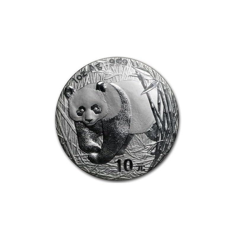 1 Oz Silver Panda 2002 Goldsilver Be